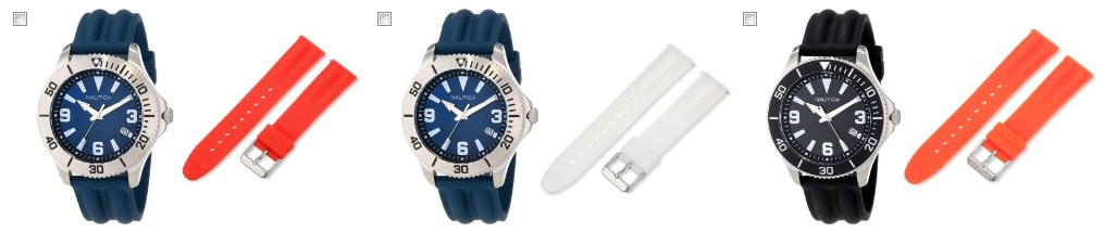 nautica Nautica Silicone Strap Watch Box Sets for $64.99 Shipped