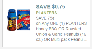 planters New Planters Printable Coupons + Walmart Deal
