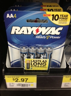 rayovac Rayovac Alkaline Batteries Printable Coupon + Walmart Deal