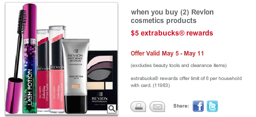 revlon New Revlon Mascara Printable Coupon + CVS Deal Starting 5/5