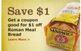 roman meal Roman Meal Bread Coupon + Walmart Deal