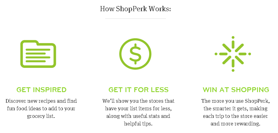 shop Sign Up For FREE ShopPerk App: Compare Store Deals For Things You Buy, Get Recipes and More