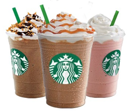 Starbucks: Frappuccino Happy Hour May 4 – 12