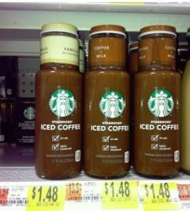 starbucks $1/1 Starbucks Iced Coffee Printable Coupon = 48 Cents at Walmart