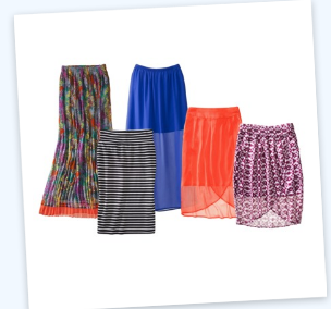 target 1 Mossimo Womens Spring Skirt Collection BOGO 50% Off + More Daily Deals