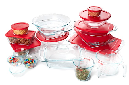 woot use Woot: Pyrex Prep, Store & Bake 28 Piece Set for $49.95