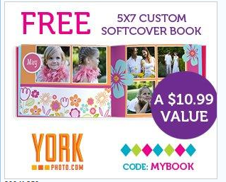 york FREE 5x7 Custom Softcover Fathers Day Book (Just Pay Shipping)
