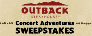 Sweepstakes Roundup: Outback Steakhouse Concert Adventure Sweeps, ULTA Instant Win Game + More