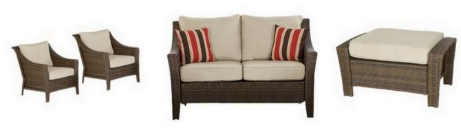 Threshold Rolston Wicker Patio Furniture