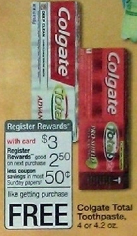 $0.75/1 Colgate Toothpaste Printable Coupon = Makes it Better than Free at Walgreens
