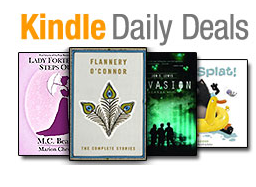 Screen Shot 2013 06 09 at 9.00.16 AM Kindle Daily Deals:  up to 74% on books by Flannery OConnor, M. C. Beaton, J. S. Lewis, and Rob Scotton + Free Kindle Books