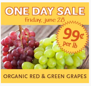 Screen Shot 2013 06 26 at 8.31.51 AM Whole Foods: Organic Grapes only 99 Cents per Pound
