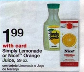 Simply Lemonade at Wags 6 30 Simply Lemonade or Limeade Printable Coupon + Walgreens Deal