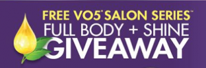Sweepstakes Roundup: V05 Full Body + Shine Giveaway, Powerade Ultimate Soccer Legend Instant Win Game + More