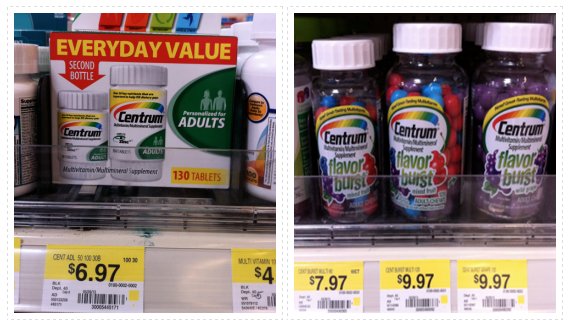 picture relating to Centrum Coupon Printable called Centrum Multivitamin Printable Coupon codes + Walmart Promotions