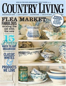 country Country Living Magazine Subscription for $5.99 (60¢ per issue)