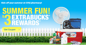 cvs 300x156 CVS Summer Fun $3 Extrabucks Rewards (Check Your Email)