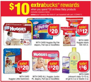 cvs 300x270 Huggies Baby Products CVS ECB Deals