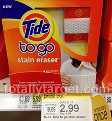 eraser Tide Stain Eraser Printable Coupon + Target Price Cut Deal