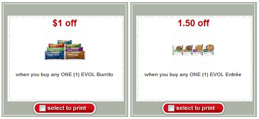 evol target New EVOL Burritto and Entree Printable Coupons + Target Deals