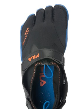 fila Fila Mens or Womens Water Drainage Skele Toes for $24.99 Shipped