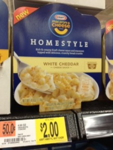 homestyle walmart Kraft Homestyle Mac & Cheese Bowls Deals at Target and Walmart (Pay as low as 18¢)