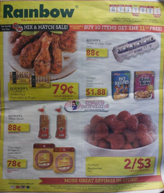 rainbow foods changes ad less items on sale Rainbow Foods Changes Ad – Less items on sale