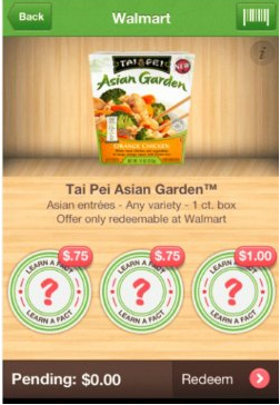 tai Tai Pei Asian Garden Ibotta Offer + Walmart Deal = Possibly FREE?!