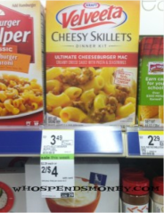 velveeta skillets Walgreens: Velveeta Cheese Skillets as low as $0.25 each