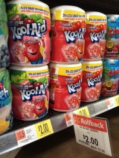 walmart kool aid e1371132319576 Walmart: Kraft Brand Deals = Kool Aid Canisters, Jammers, Mayo, A.1., Oscar Mayer and More