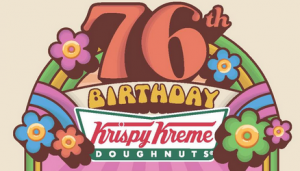 Krispy Kreme Birthday