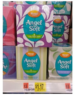 angel Angel Soft Tissues Coupon Plus Walmart Scenario
