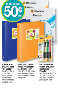 bic office max New Bic Stationary Product Printable = Freebies at Staples and Office Max