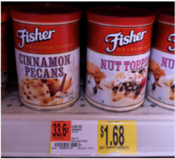 New Fisher Snack Item Printable Coupon + Walmart Deal