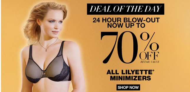 maidenform1 Maidenform 24 Hour LILYETTE MINIMIZERS Blow Out Sale (Styles as low as $9.77 Shipped)
