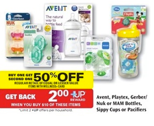 nuk New NUK Bottle and Pacifiers Printable Coupon + Rite Aid Deal
