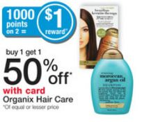 organix Organix Hair Care Printable Coupons + Walgreens Deal