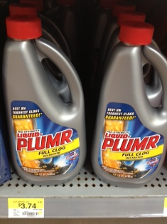 plumr Liquid Plumr Product Printable Coupon + Target and Walmart Deals