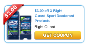 right guard Printable Coupons: HERDEZ, Shout, Pledge, Right Guard, Johnsons, Scrubbing Bubbles, Huggies and more