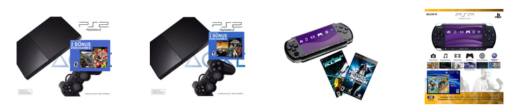 target 2 Nintendo 3DS Bundle, PS2 Value Bundles and PSP 3K Systems UP to 40% off Shipped FREE