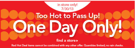 ToysRus Red Hot ONE DAY ONLY Sale = $4 Crayola, $10 Nerf, $24 Step2 Art Easel Desk and More