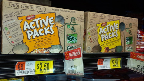 active packs Armour Active Packs Printable Coupon + Walmart Rollback Deal