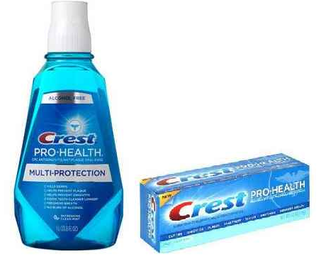 New Crest Toothpaste and Rinse Printable Coupons = $1 Deal at Walgreens and More