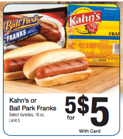 kroger ball park franks