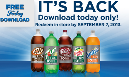 kroger freebie Kroger Shoppers: FREE 2 Liter of TEN Soda (Various Flavors) with Digital Coupon (Load Now)