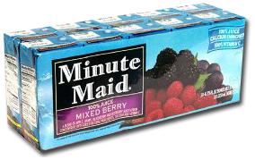 Minute Maid Juice Box Coupon – $1/1 + Walmart Scenario!