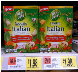 wish bone New Wish Bone Dry Dressing & Seasoning Mix Coupon + Walmart Deal (Plus Recipe Idea)