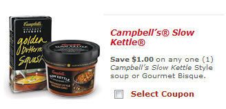 CAMPBELLS New Campbells Gourmet Bisque Printable Coupons + Walmart Deal (As low as FREE)