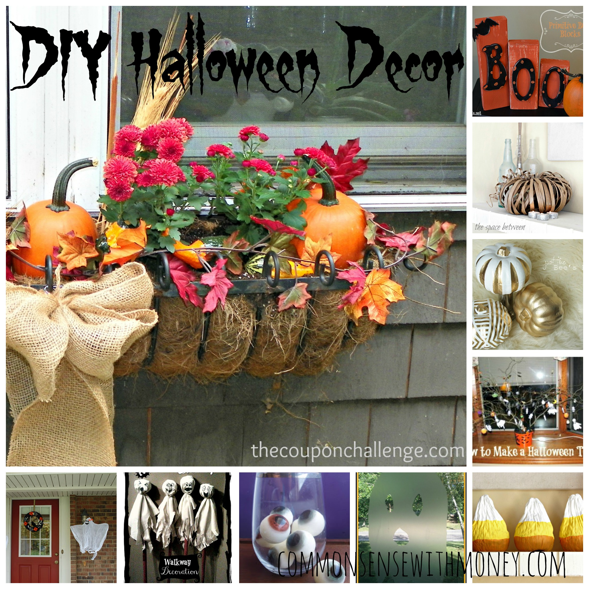 DIYHalloweenDecor DIY Halloween Decor Ideas