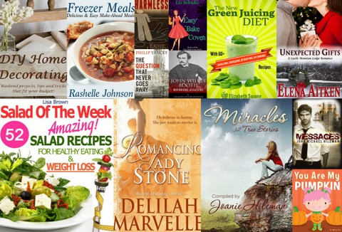 Screen Captures99 Kindle ebooks: Daily Deals Up to 80% off, Monthly Offers and Free Kindle Books for 9/12/13